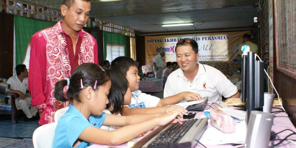 Free Wireless Broadband Internet At Pekan Julau